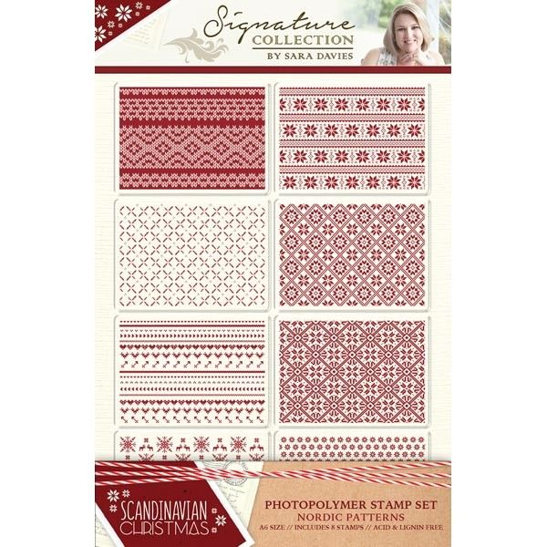 Crafters Companion Christmas Patchwork A4 Universal Embossing Folder