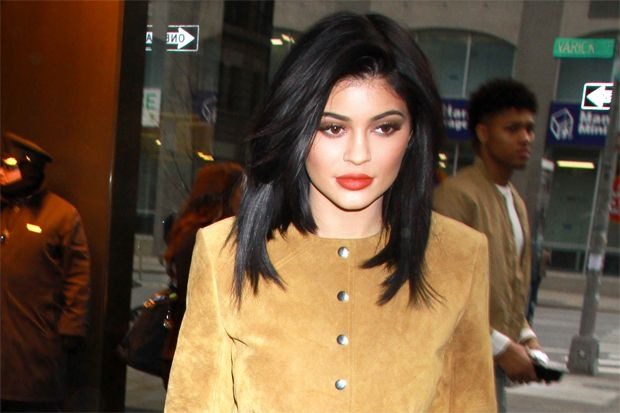 Kylie Jenner in Head-to-Toe Suede Leads Today's Star Sightings