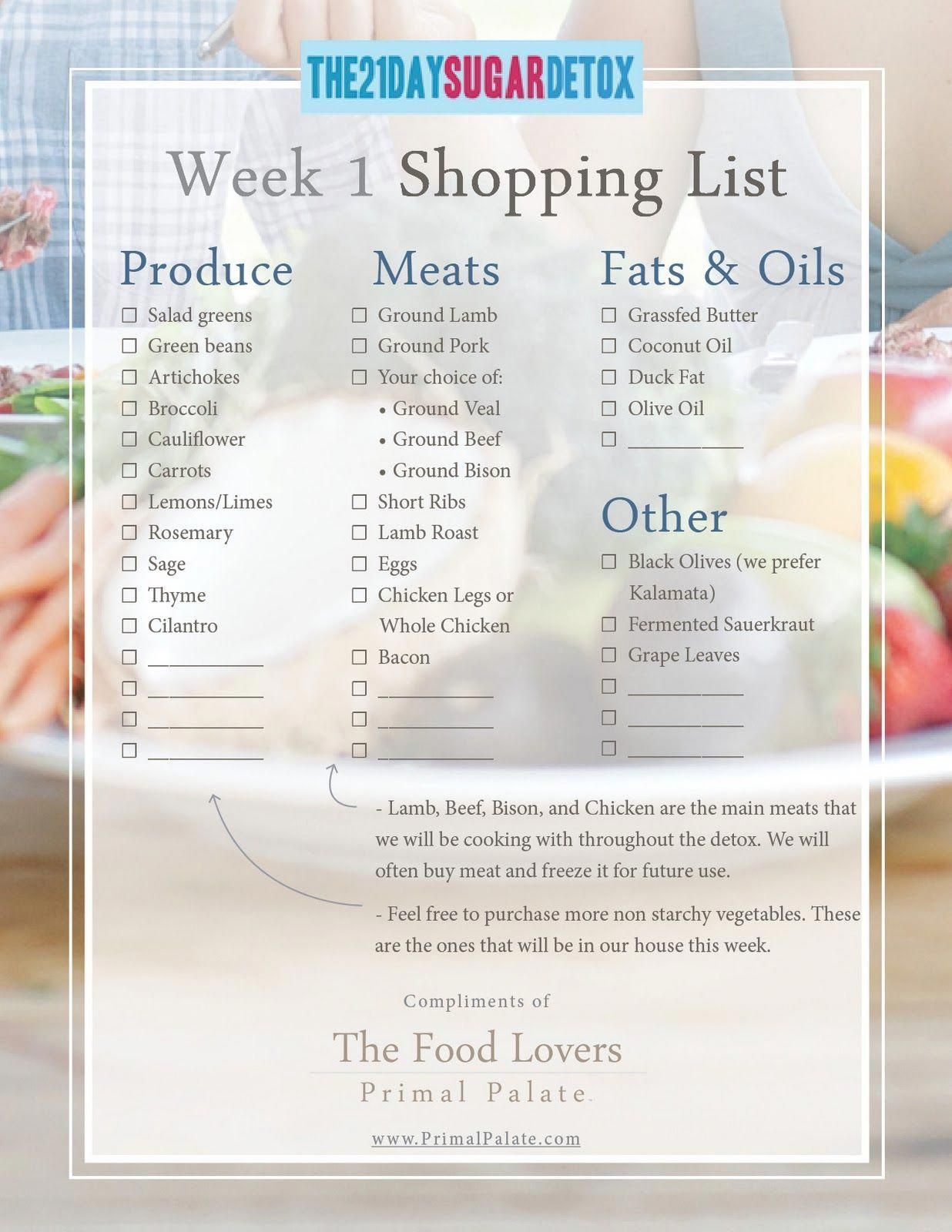 The 21 Day Sugar Detox - The Food Lovers Kitchen #SugarDetox #DetoxDiets #sugardetoxtips #sugardetoxplan