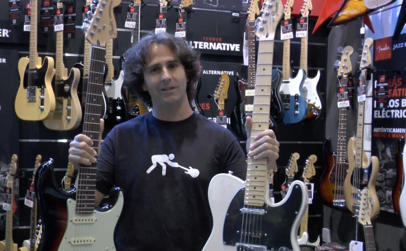 ¡Ayuda a Jopi a elegir su nueva guitarra y gana una Fender Deluxe!