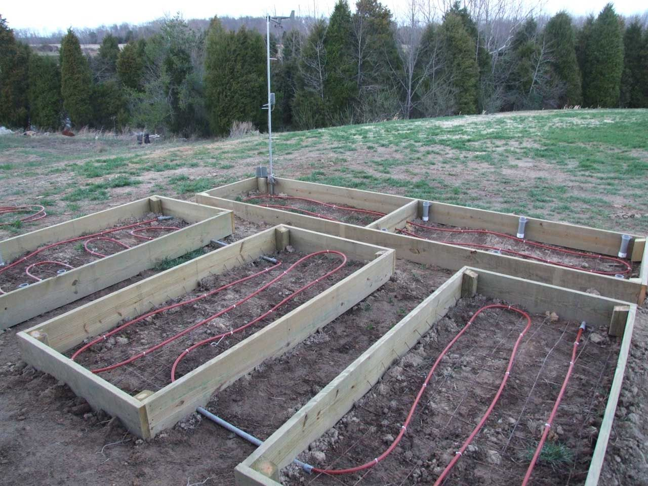Heated Raised Gardening Beds Bar J Crazy J Farms Vegetable
