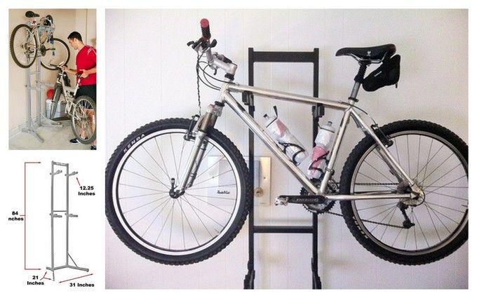 Garage Bike Racks (for women's bike) | Home: Office, Garage & Bonus on bike racks for truck beds, bike racks for storage, bike racks for sheds, bike racks for boats, bike racks for vehicles, bike racks for trailers, bike racks for floor, bike racks for campers, bike racks for businesses,