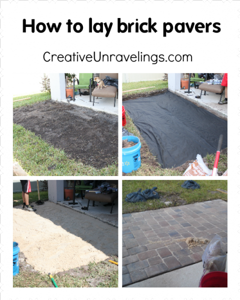 Tutorial On How To Lay Brick Pavers. Visit
