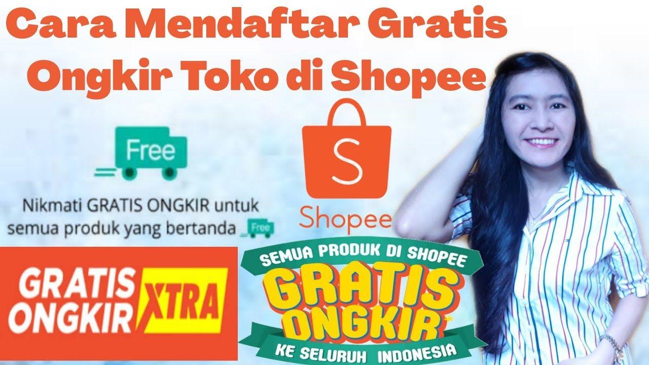Tutorial Shopee Cara Mudah Mendaftar Gratis Ongkir Toko Di Shopee Youtube Youtube Toko Tanda