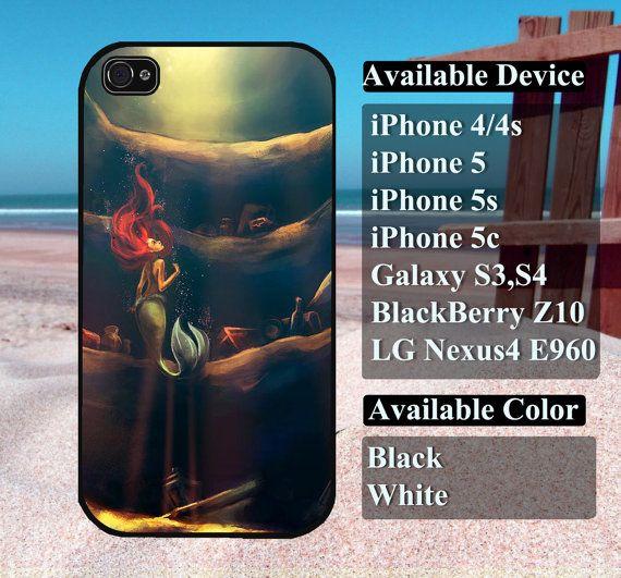 disney ariel little mermaid case  iPhone 4/4s by vallenshop, $13.50