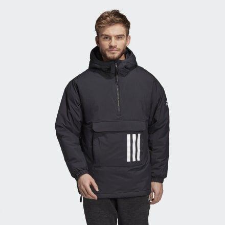 negativo neumonía látigo  Insulated Anorak Black Mens | Winter jackets, Jackets, Anorak