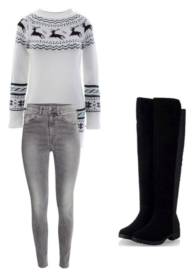 My First Polyvore Outfit by samiajibreel on Polyvore featuring polyvore, fashion, style and H&M