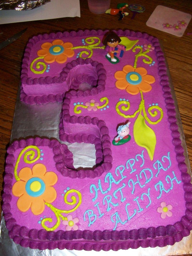 Dora Birthday Cake For Party Cakes Ideas Pictures | Around ...