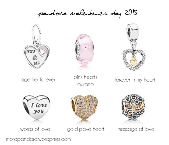 preview pandora valentines day 2015 collection
