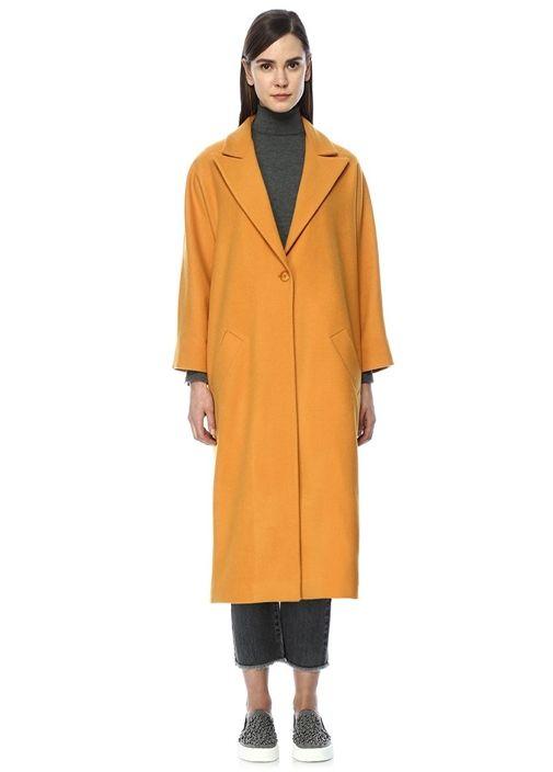 Beymen Club Palto Color Orange Moda Stilleri Manto Unluler