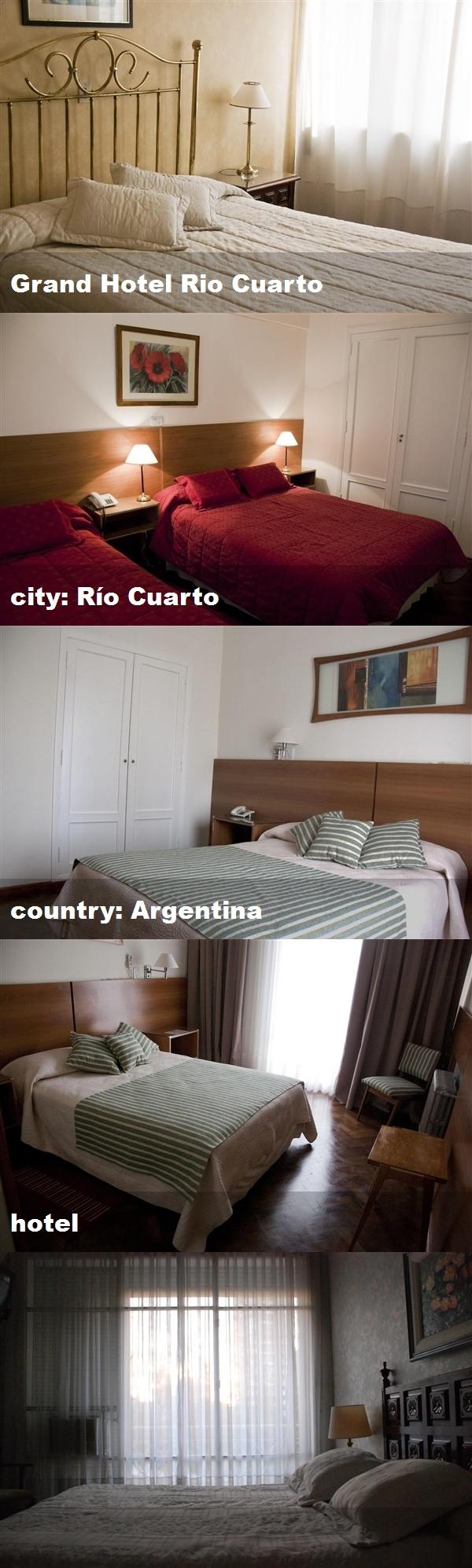 Grand Hotel Rio Cuarto, city: Río Cuarto, country: Argentina, hotel ...