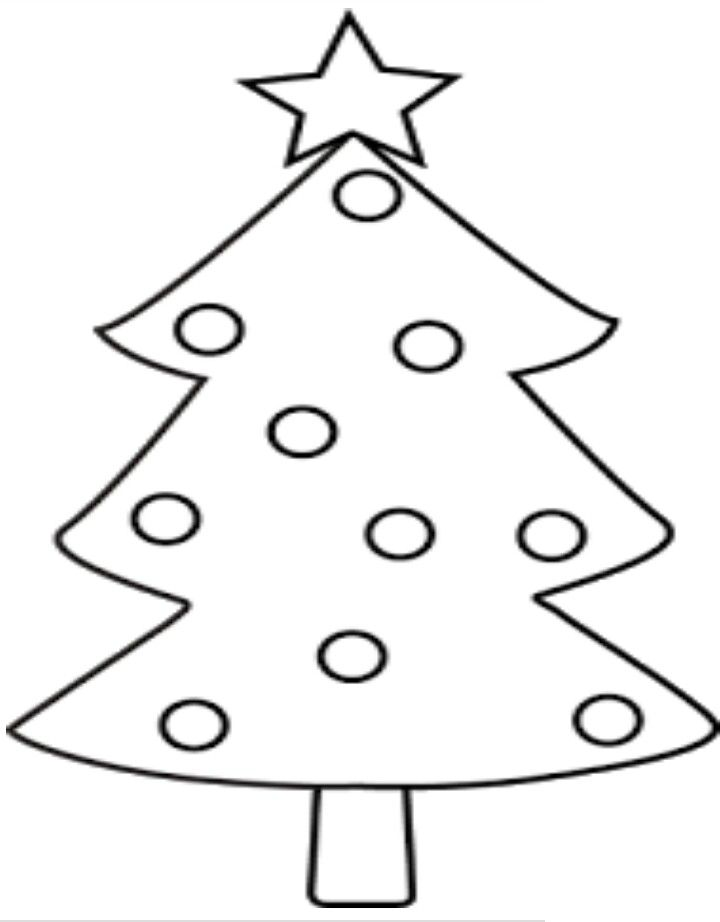 Christmastime Christmas Tree Images Christmas Coloring Pages Christmas Tree Drawing
