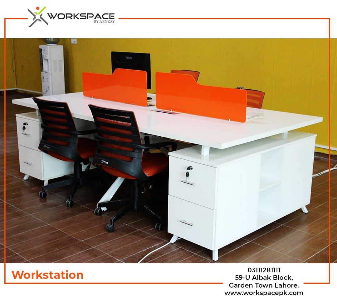 Modern persons workstation by workspace pakistan pakistanu