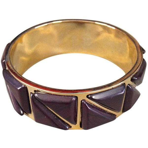 Pre-owned Etro Gold Metal Bracelet ($150) ❤ liked on Polyvore featuring jewelry, bracelets, gold, etro jewelry, etro, preowned jewelry and pre owned jewelry