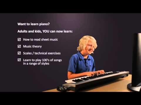 Exist? Quite Adult beginner lesson online piano