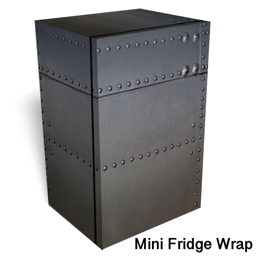 Metal Airplane Sheet Mini Fridge Wraps Mini Fridge Beer Fridge Locker Storage