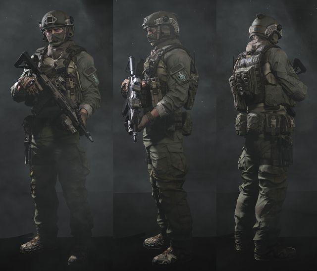Request black squad model - Developers - Facepunch Forum