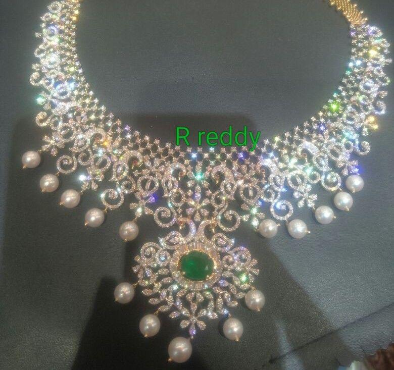 10 Lakhs Diamond Wedding Jewelry Bridal Diamond Jewellery Diamond Jewelry Designs