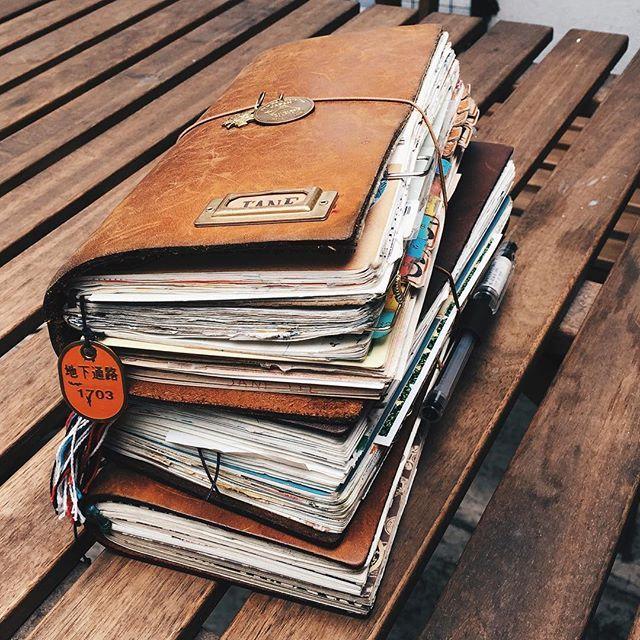 traveller 39 s notebook notebook inspiration pinte. Black Bedroom Furniture Sets. Home Design Ideas
