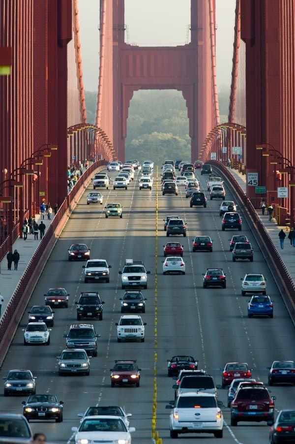 Golden Gate Bridge, USA – 1,280 m
