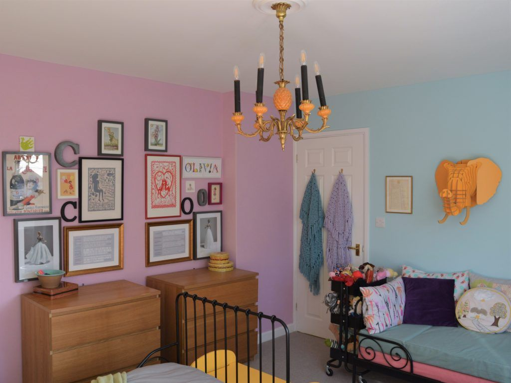 a shared girls' rooms and playroom Shared girls room
