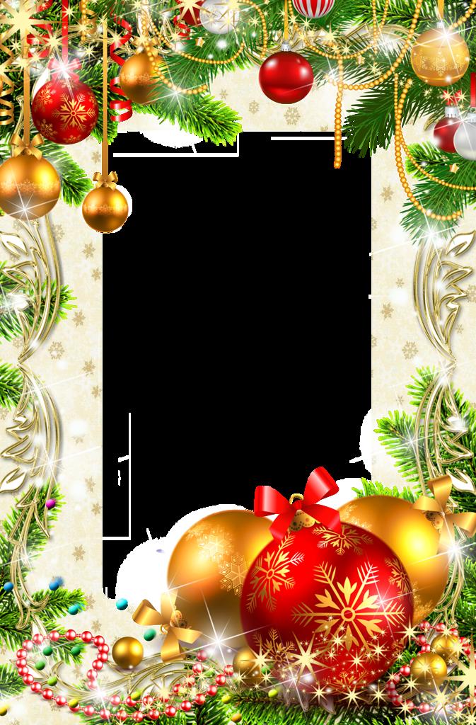 Новый год рамки открытки