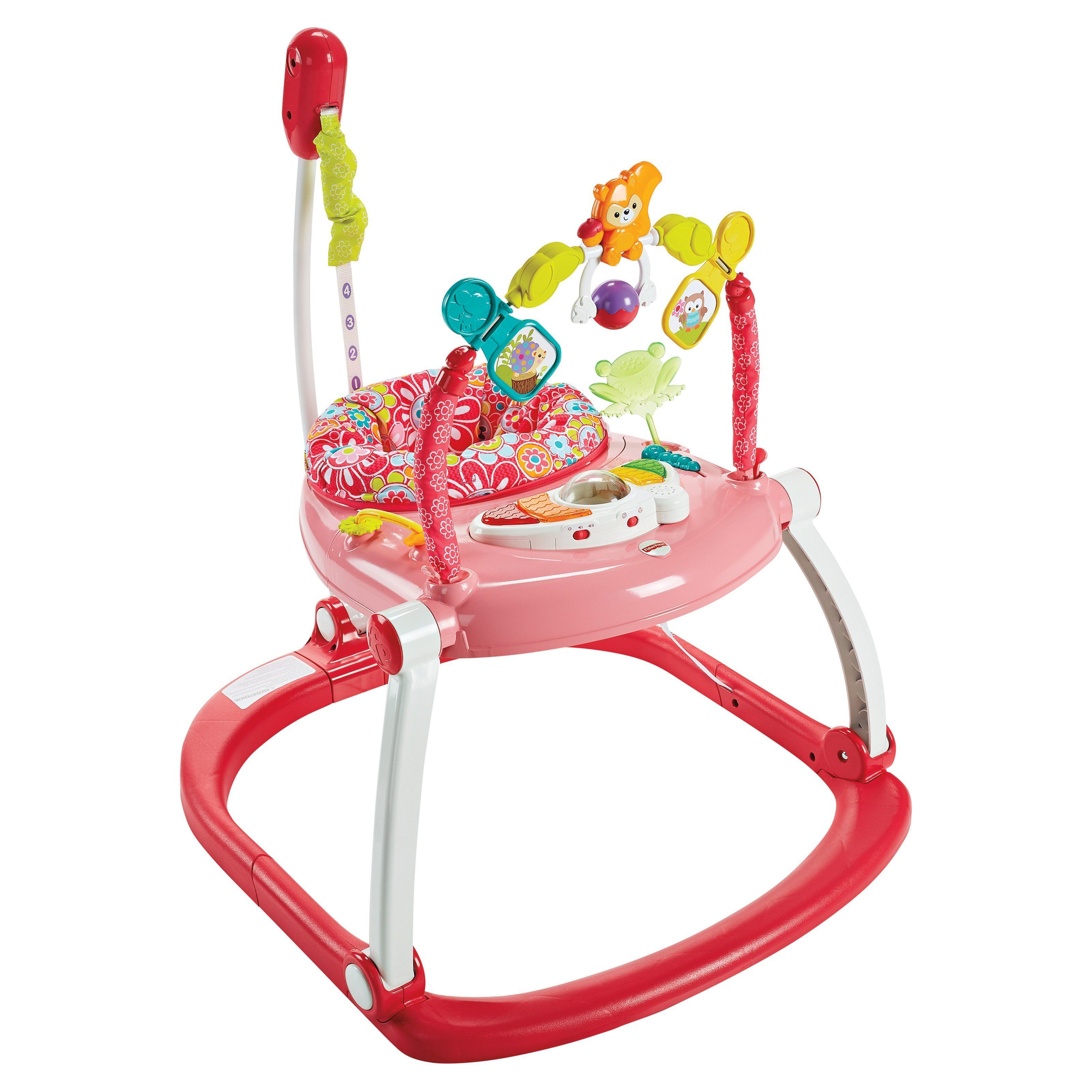 Fisherprice floral confetti spacesaver jumperoo dkt products