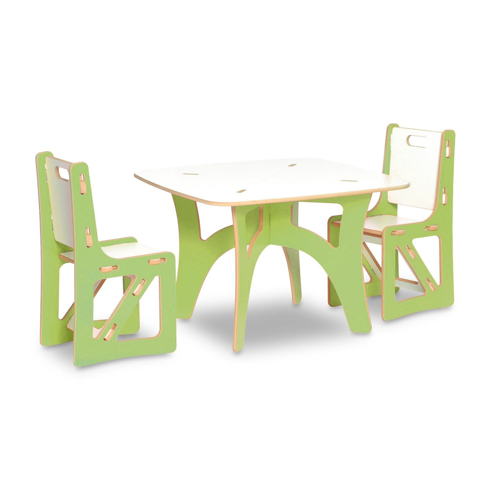 sprout kids table and chairs set ecofriendly  simple design  - sprout kids table and chairs set ecofriendly  simple design