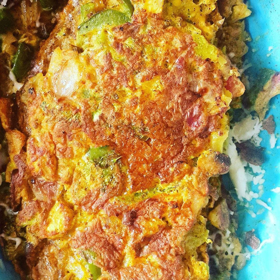 Just made this. Love to cook. Cheese Omelette. Chicken Lababdar Saag Walla (Chicken infused with Spinach) Served with Mustard Hot Sauce & Almonds  Diet Coke  #eatmoreofwhatmakesyouhappy  #Fitspiration #fitnessmotivation #Fitspo #fitness #CrossFit #goals #fitnessgoals #fitguy #myfitnesspal #workoutselfie #progress #motivation #weight #weightloss #fitsporation #weightlossjourney #CyclingLife #cycling #fitnessfreak #healthandfitness #fitstagram #fitfam #strive #WeStrive #DoIt #JustDoIt…