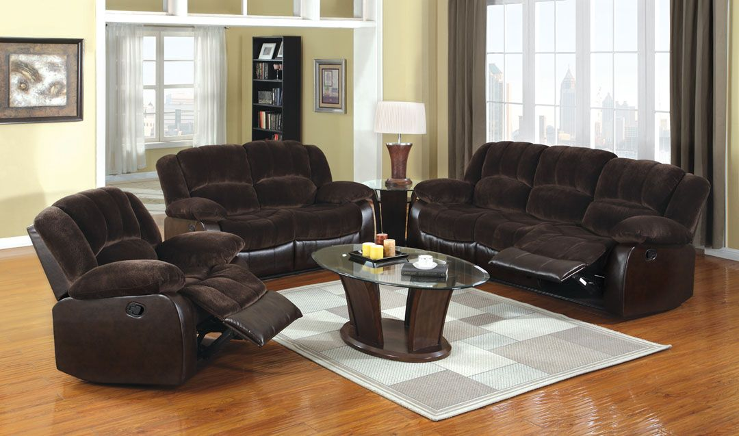 A m b furniture design living room furniture for Dark brown living room set