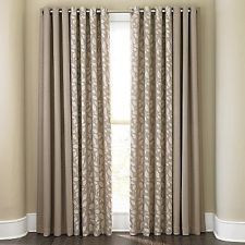 Cindy Crawford Sonoma Grommet Panel Curtain Lined 50 W Solid Or