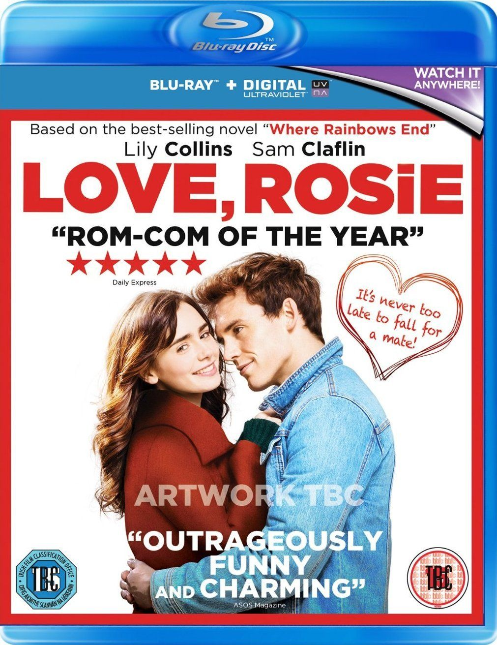 Love Rosie 2014 BluRay 720p 1.1GB [Hindi – English] AC3 MKV