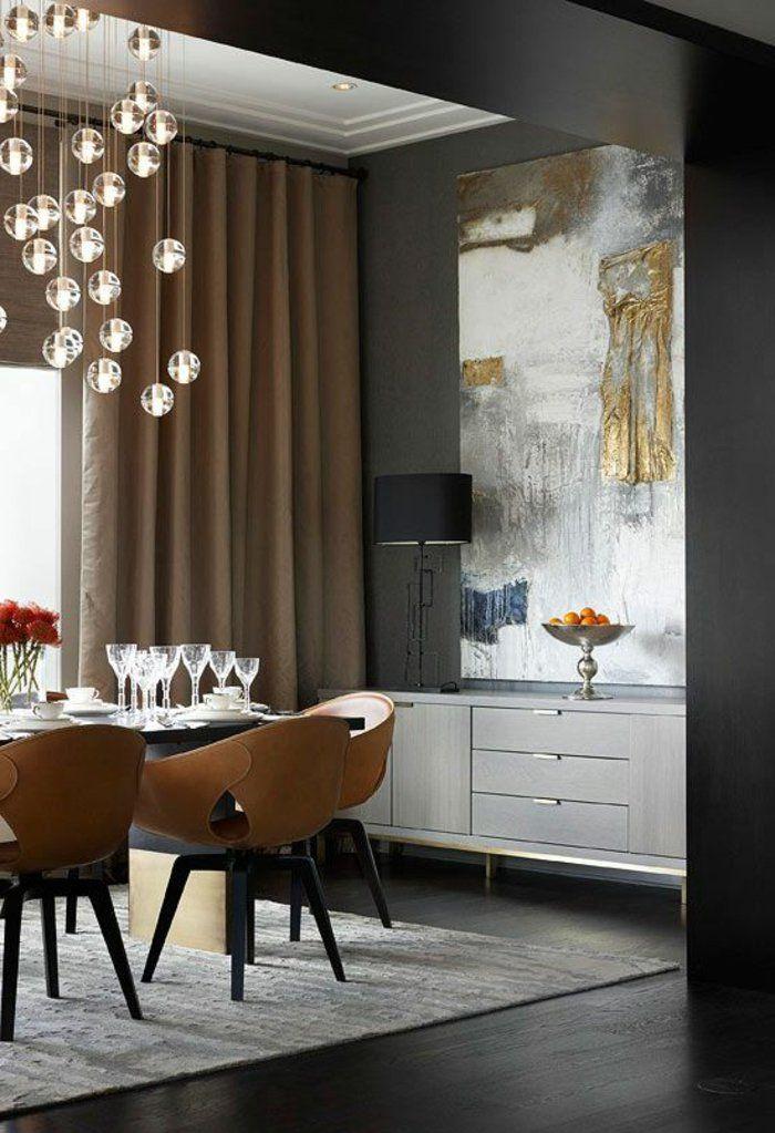 1-jolie-salle-a-manger-complete-pas-cher-de-style-de-luxe-tapis-gris