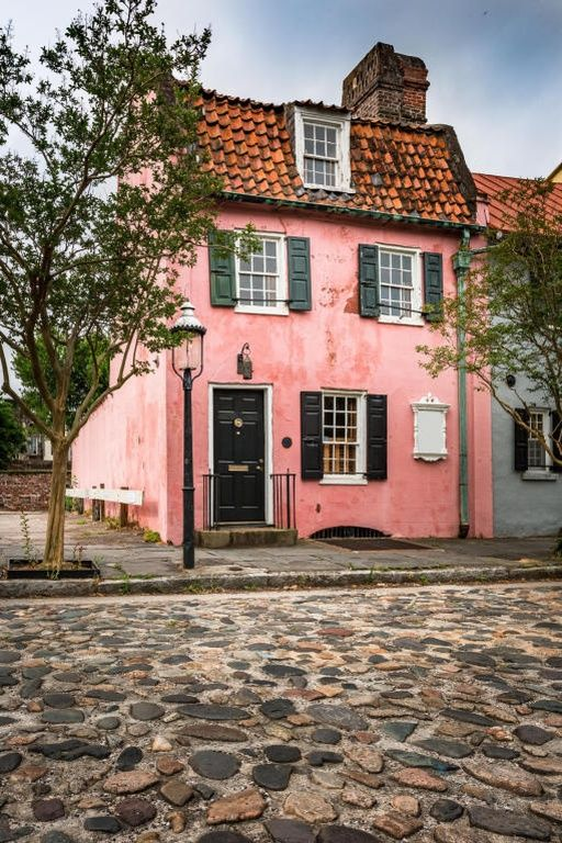 The Oldest House In Charleston South Carolina Is For Sale South Carolina Homes Pink Houses Charleston Architecture
