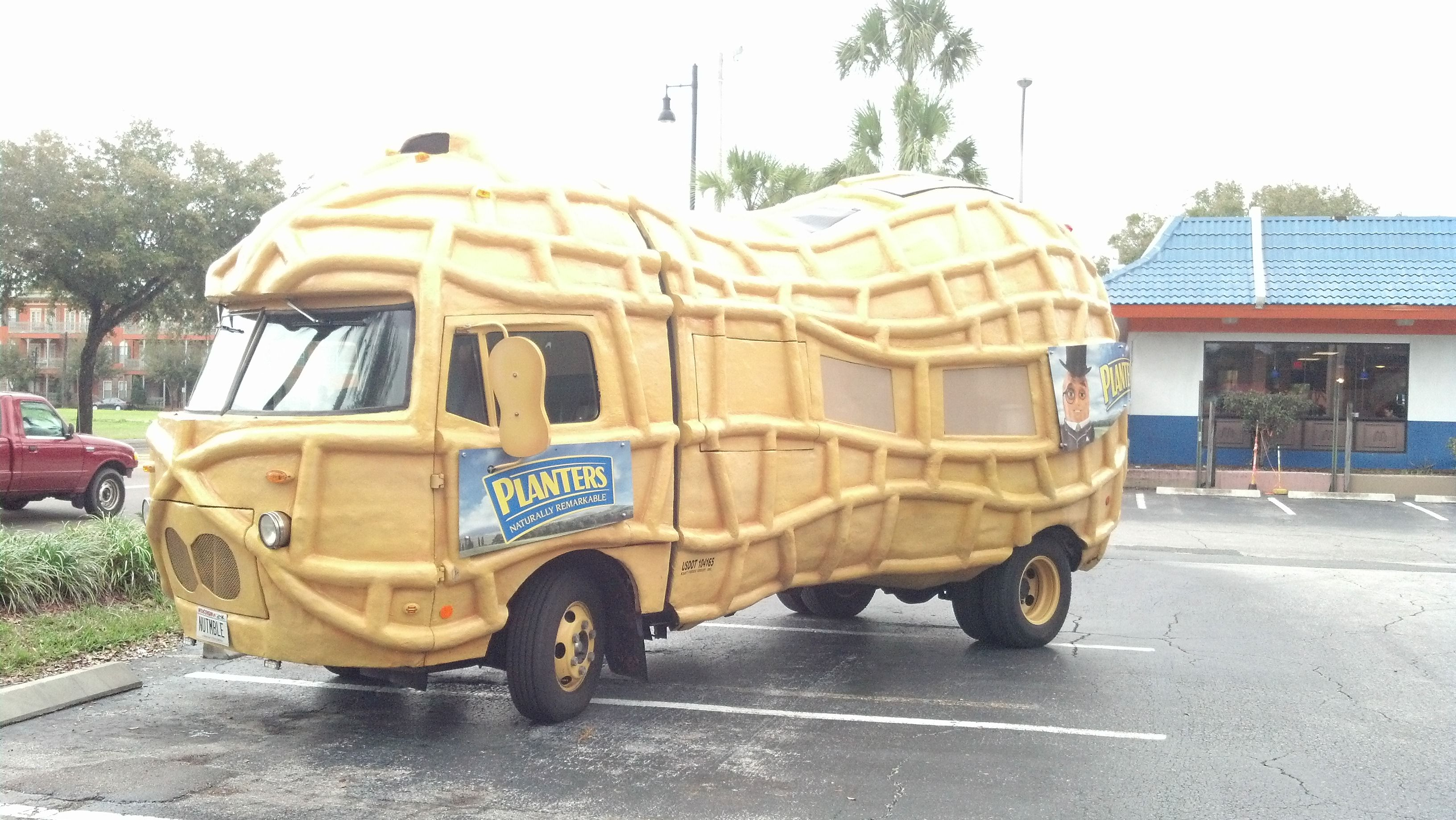 the planters peanut mobile while i was in gainesville fl