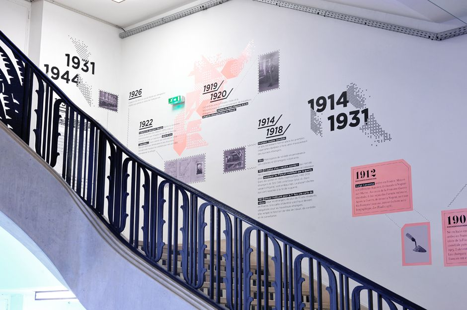 Another beautiful Timeline wall graphic