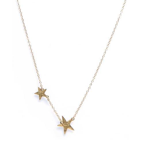 Super Star Necklace in Metallic Gold Gorjana WxZhQV