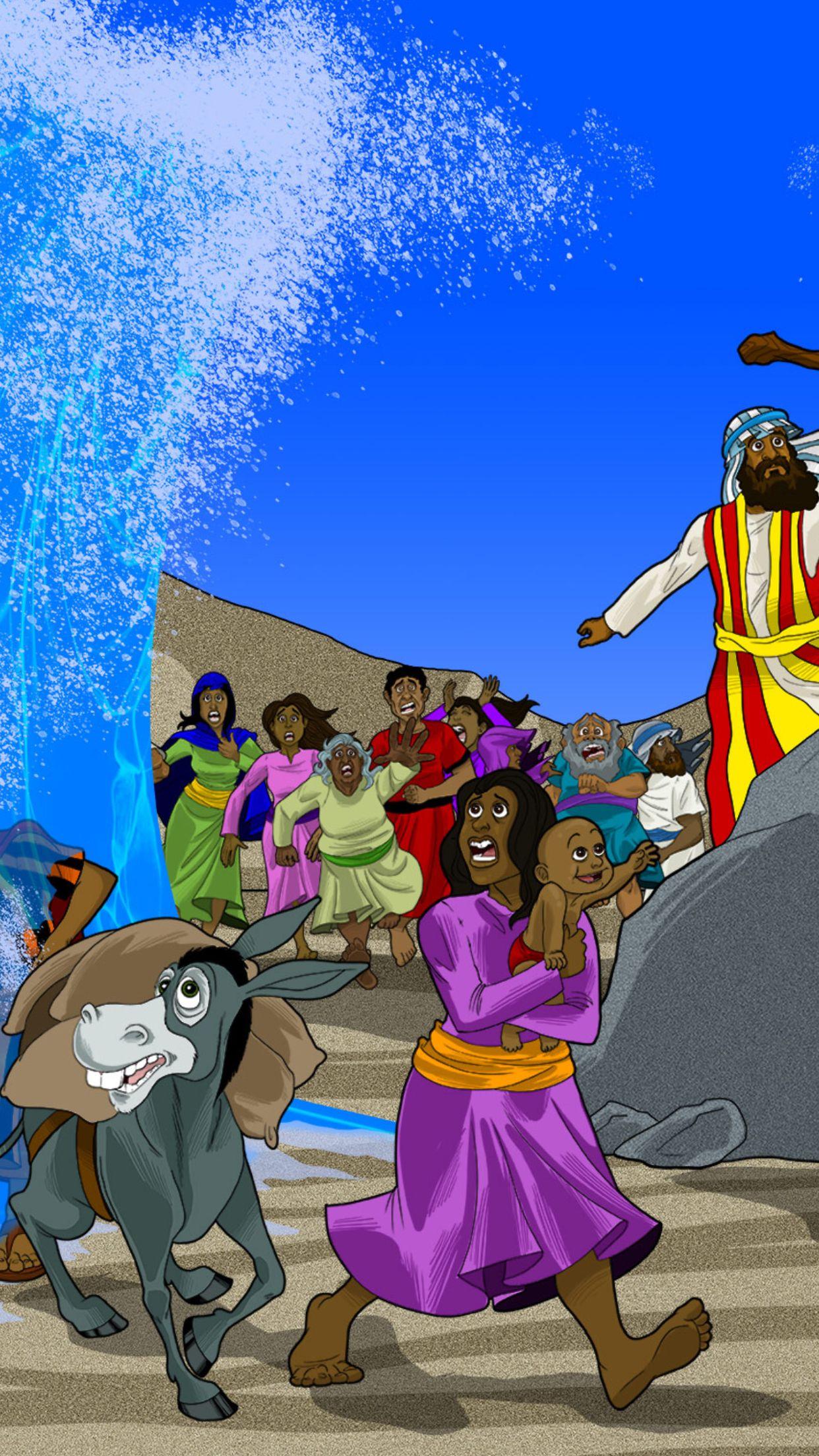Printable Bible Story The Exodus