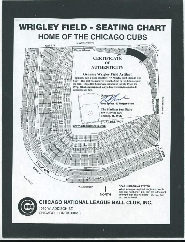 Wrigley Concert Seating Chart Wrigley Field Seat Chart View Map A Cubs Seating For Concerts P Chart Seating Charts Wrigley