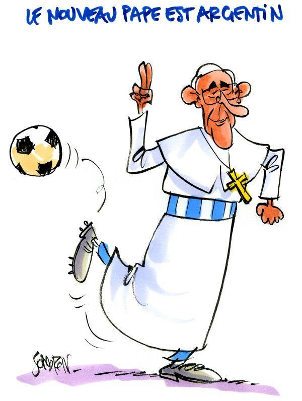 Resultado de imagen para papa francisco y el futbol