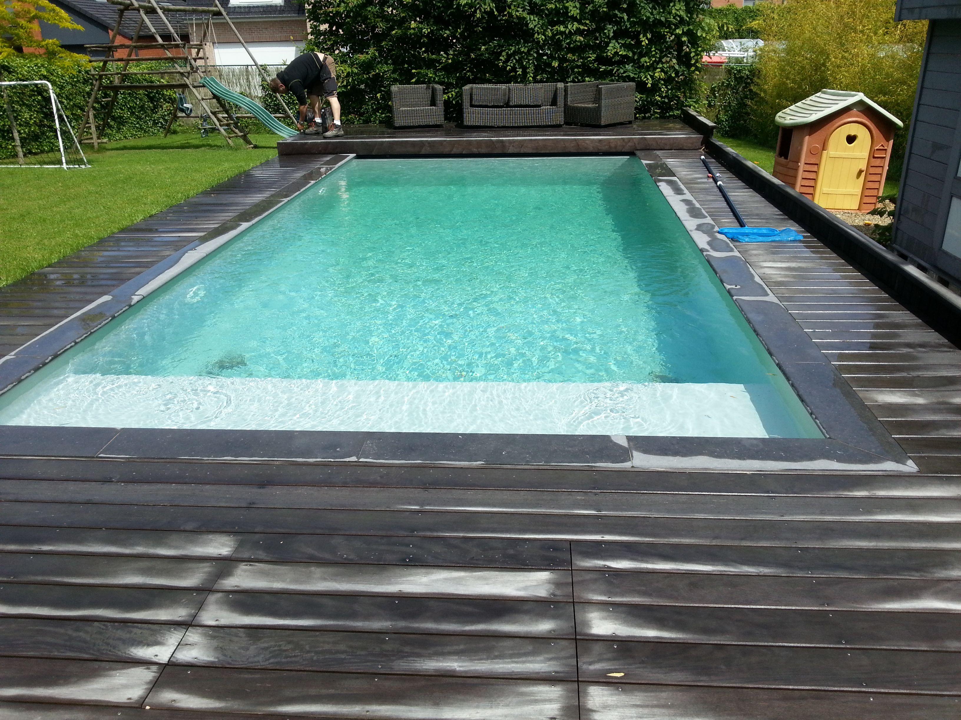Zwembad met liner alkorplan 2000 grijs zwembaden jr pools pinterest swimming pools - Outdoor decoratie zwembad ...