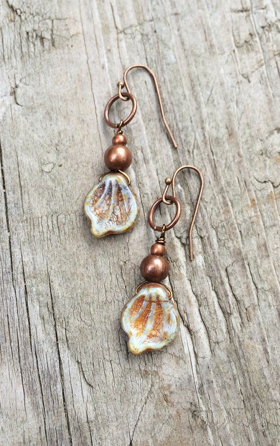 Hey, I found this really awesome Etsy listing at https://www.etsy.com/listing/243393979/boho-dangle-leaf-earrings-small-boho