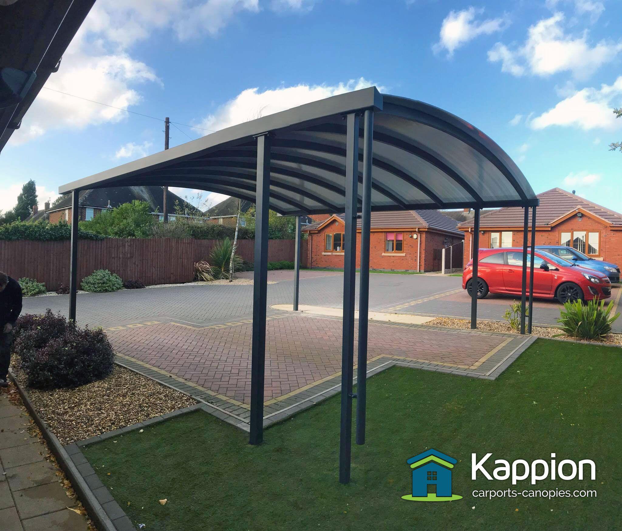 Contemporary Carport Installed By The Kappion Team Carport Canopy Carport Christmas Village Houses