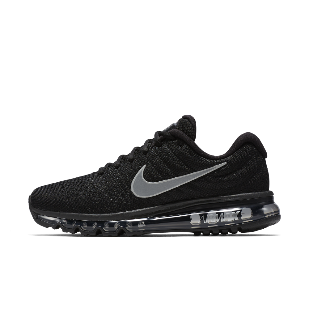 Nike Air Max 2017 Men's Running Shoes, Black