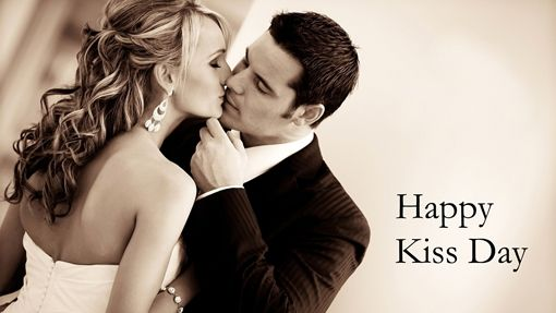 Love Cute Kissing Couple Wishes Happy Kiss Day Wallpaper   Cool PC  Wallpapers