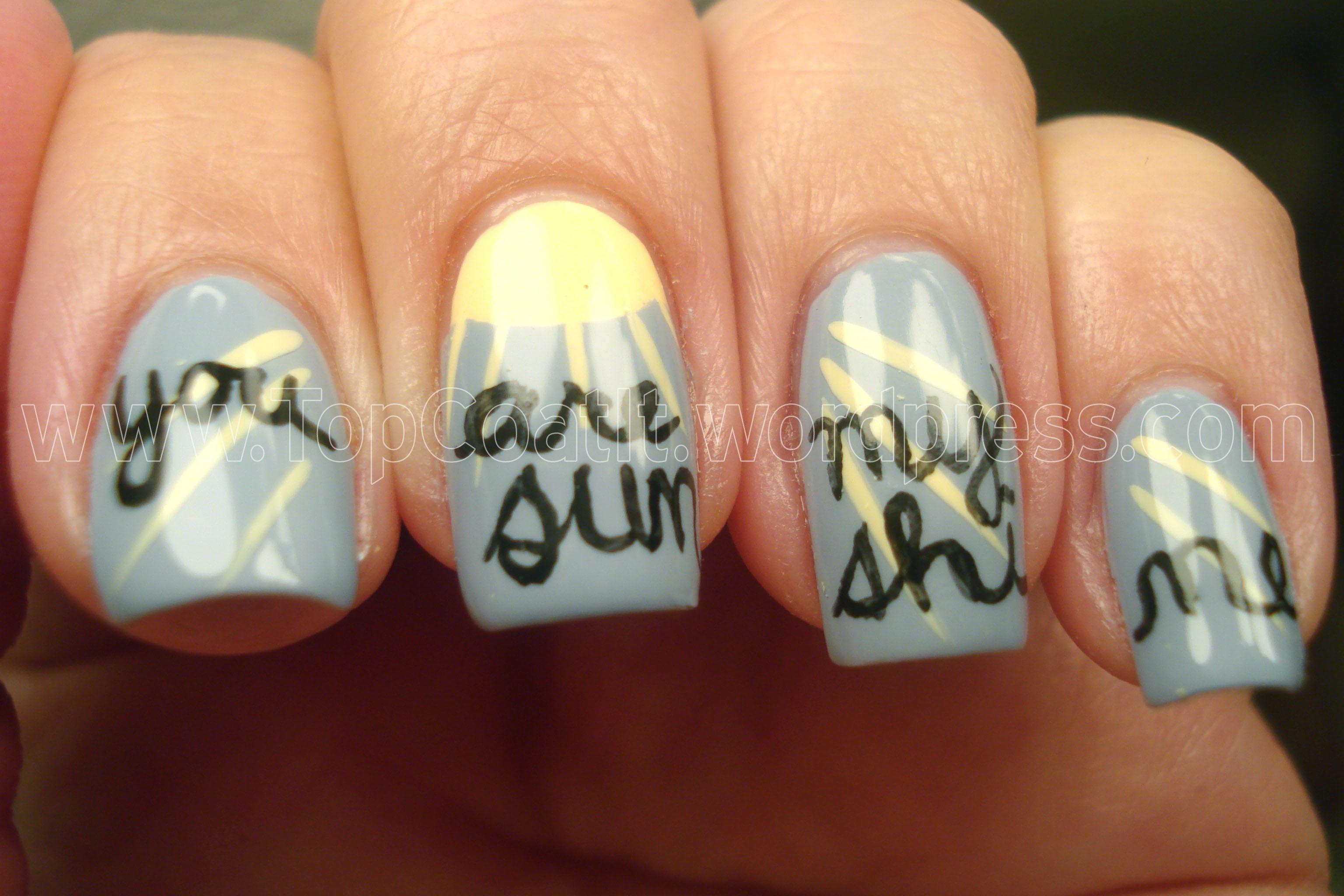 You Are My Sunshine Nail Nails Nailart Nails Nails Nails