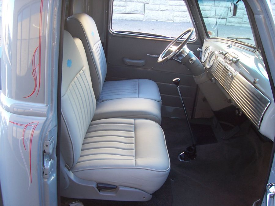1952 chevy pickup interior google search blue pinterest chevy pickups ford trucks and ford. Black Bedroom Furniture Sets. Home Design Ideas