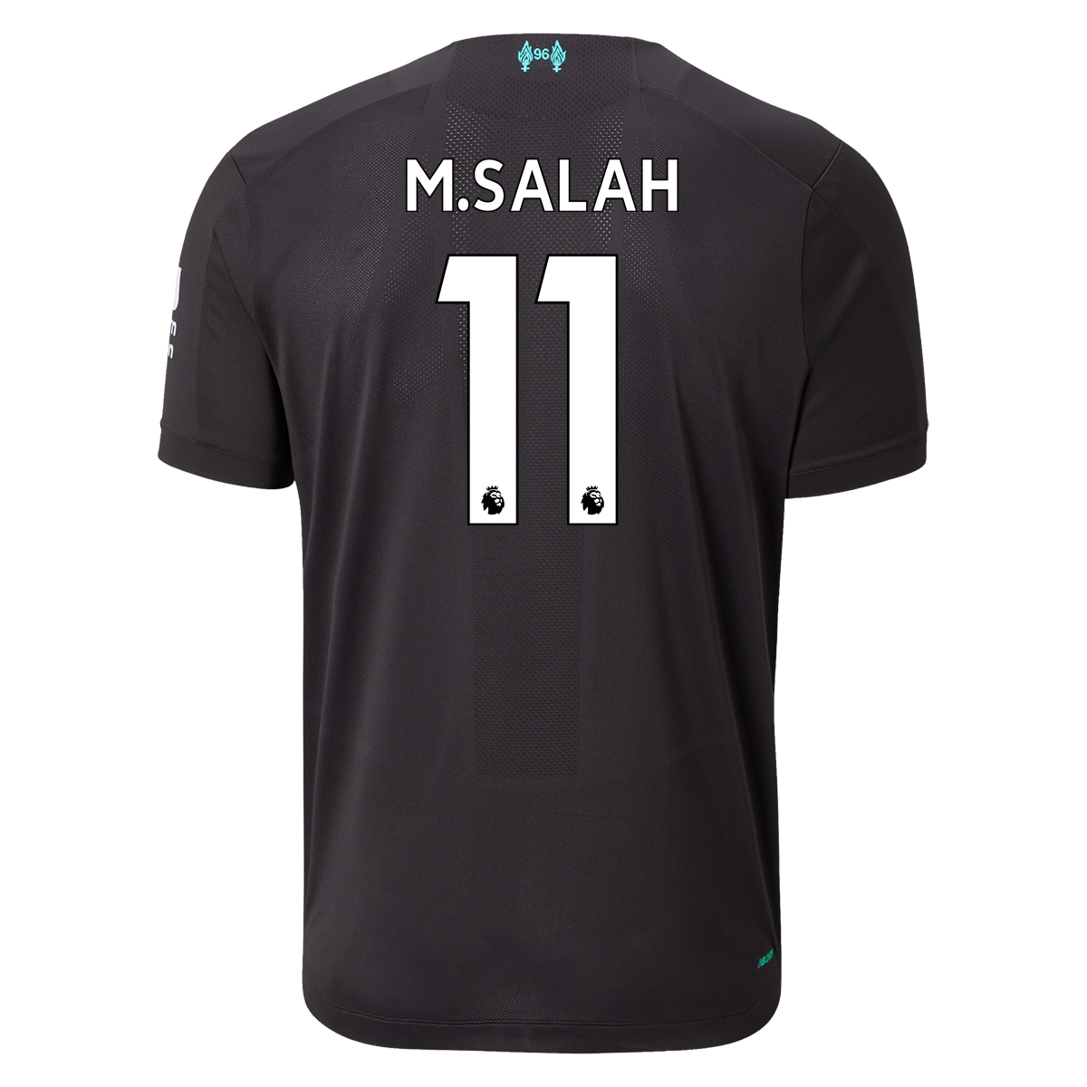 New Balance Mohamed Salah Liverpool Authentic Third Jersey ...