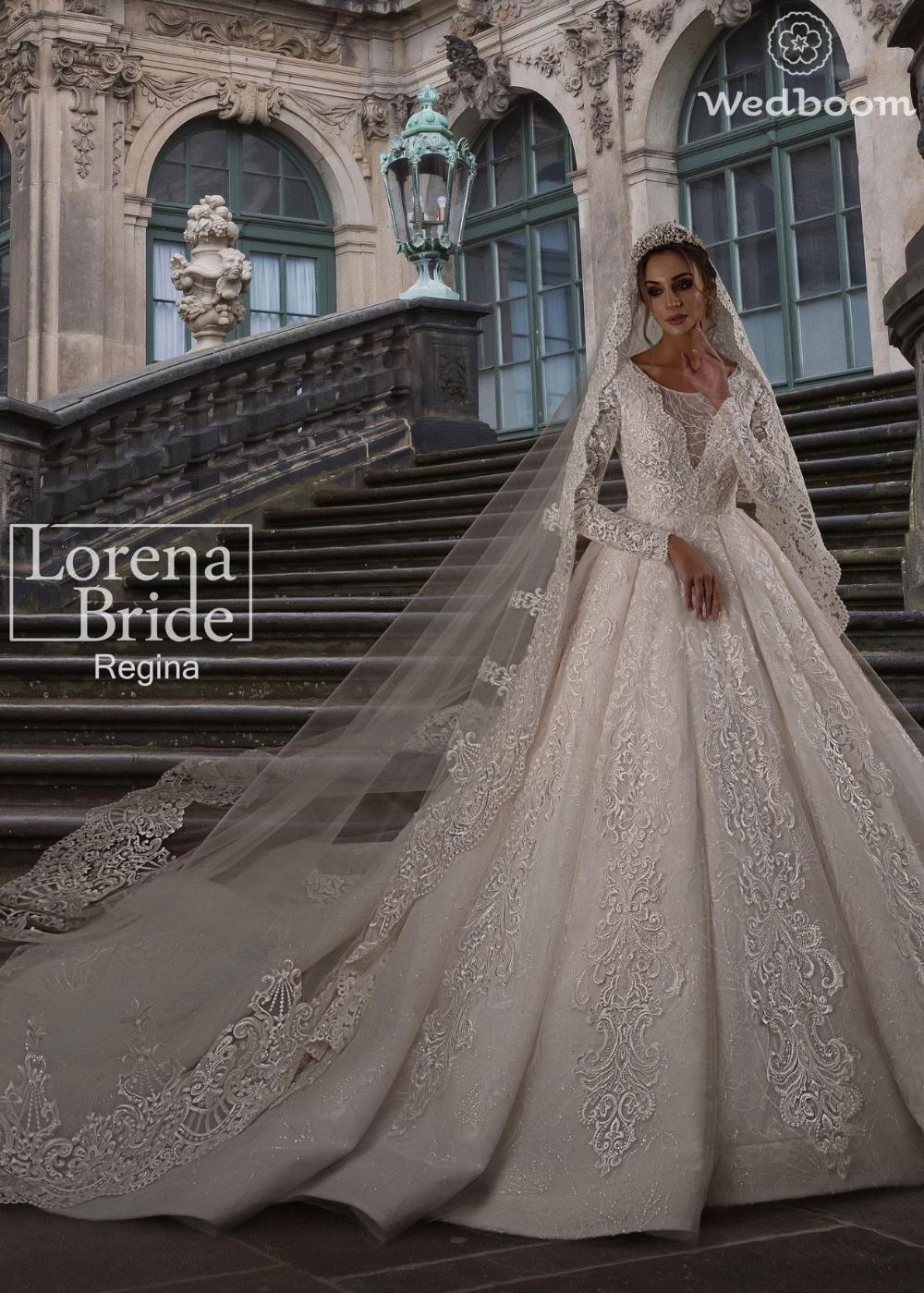 Wedding Dress Lorena Bride Regina Wedboom Eu Online Store In 2020 Wedding Dresses High Neck Wedding Dress Dresses