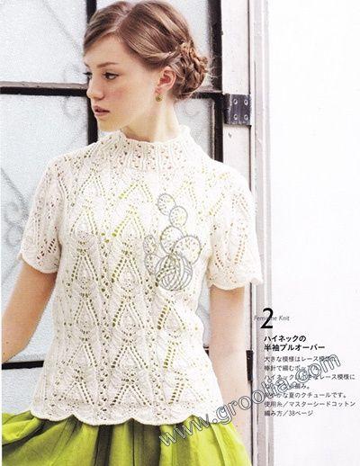 Women's sweater knit pattern 0001